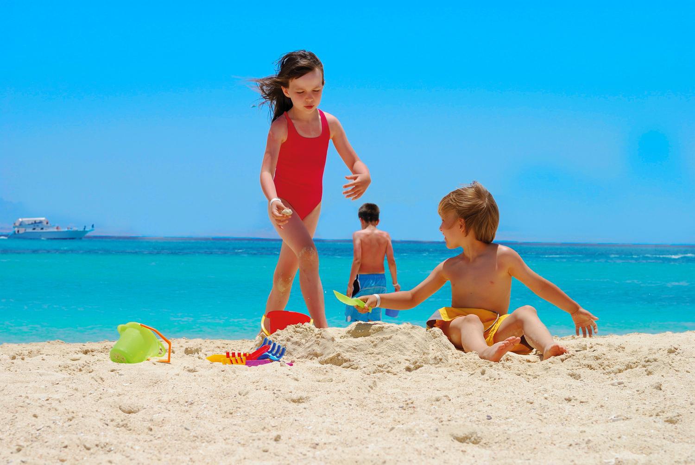 dzieci na wakacjach