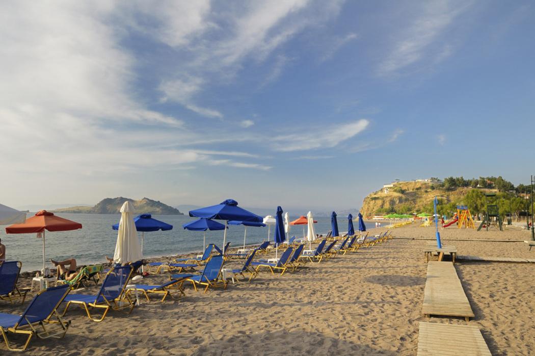Plaża w Lesbos