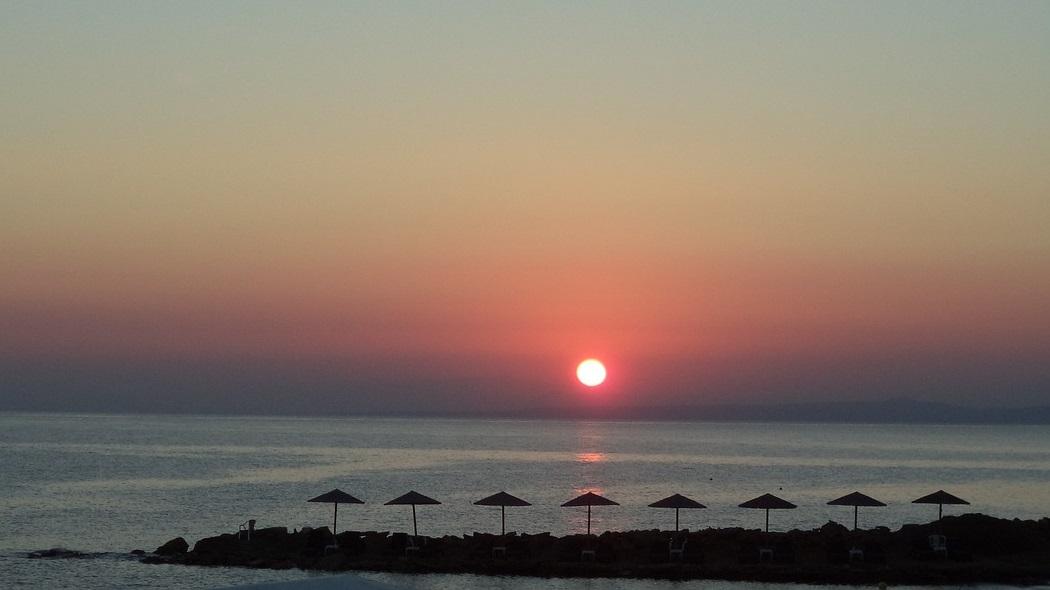 Zachód słońca w Skopelos