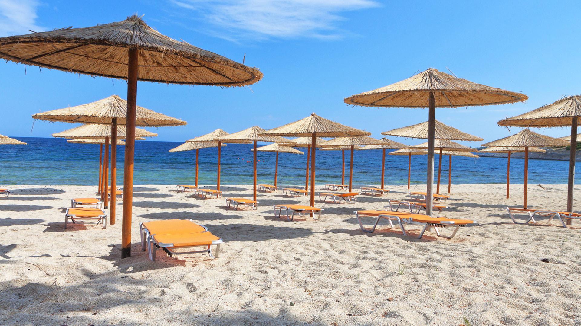 Plaża w Thassos