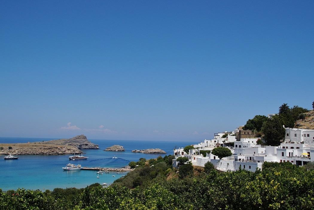 Grecka wyspa Rodos