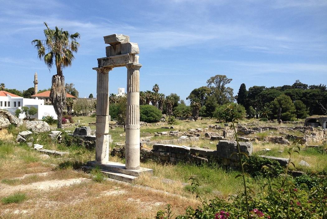 Zabytki greckiej wyspy Kos